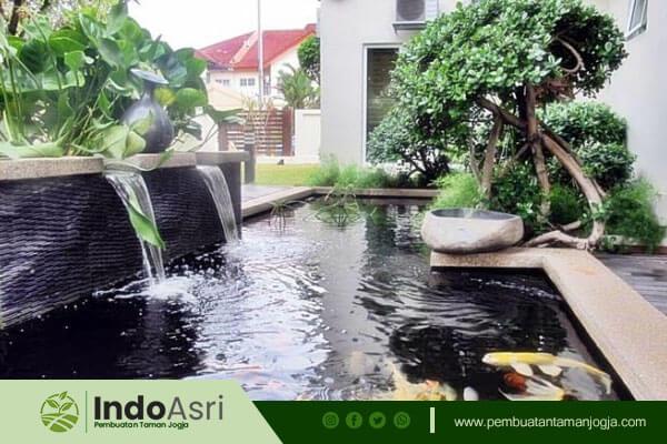 Bagi Anda yang ingin menambahkan kolam minimalis, Indo Asri juga menyediakannya