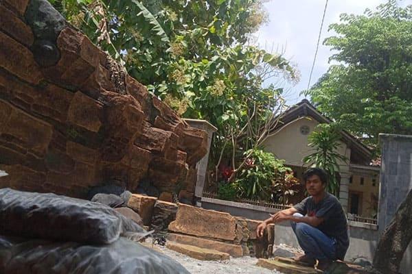 pembuatan taman jogja-kolam relief (11)