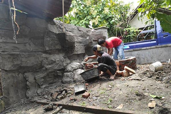 pembuatan taman jogja-kolam relief (19)